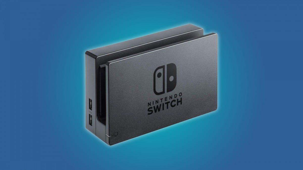 The Nintendo Switch dock