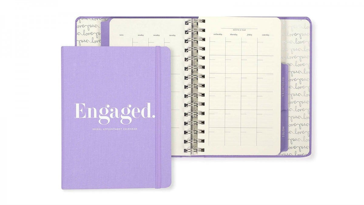Kate Spade New York Bridal Appointment Calendar
