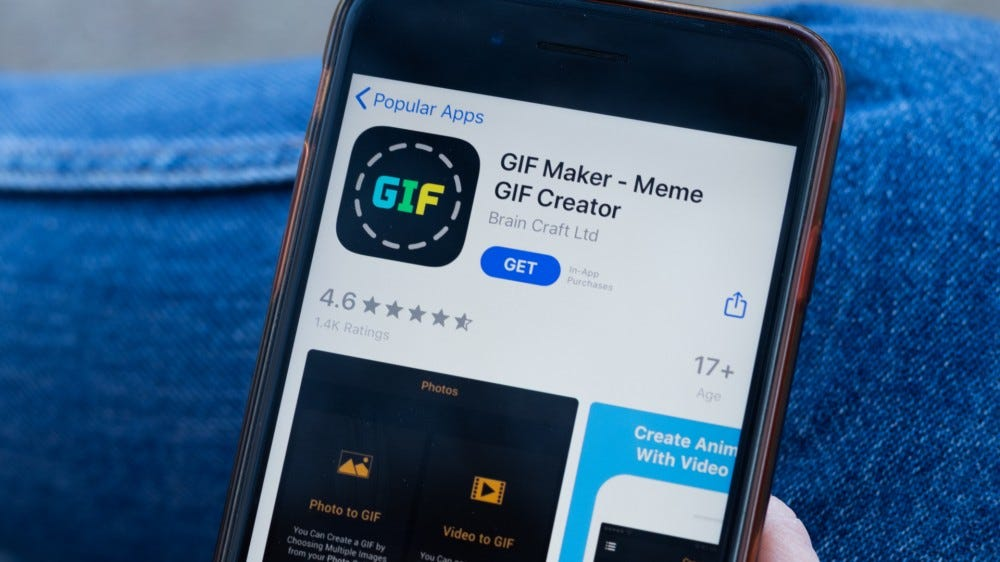 Héroe de recursos de creación de GIF