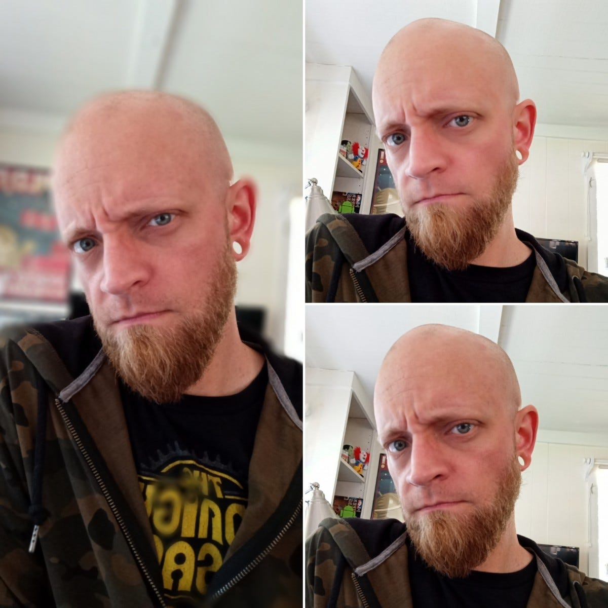 examples from the G9 Pro's front facing camera