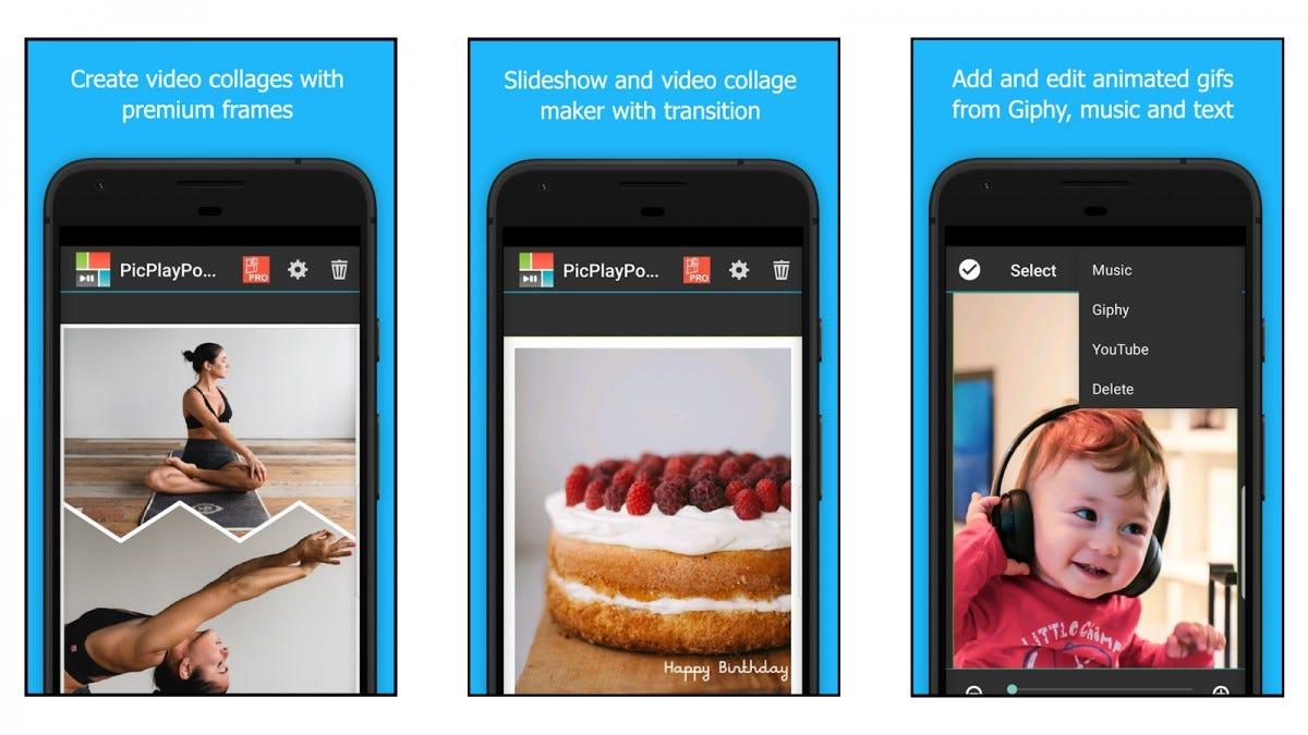 PicPlayPost Photo Collage App