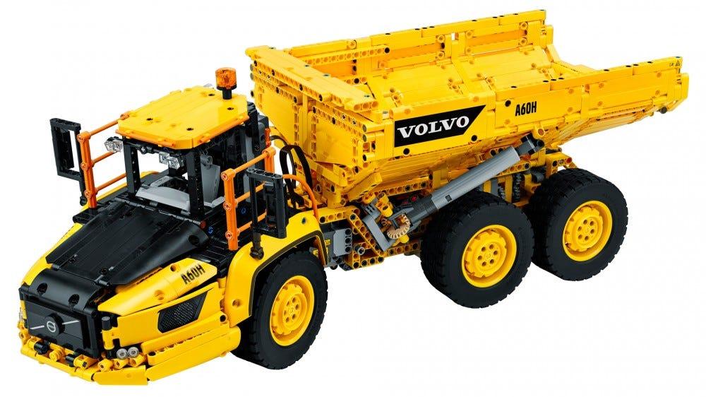 LEGO Technic 6x6 Volvo Articulated Hauler truck