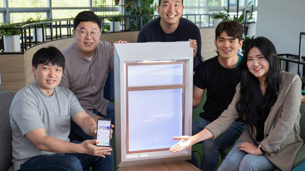 SunnyFive prototype artificial window