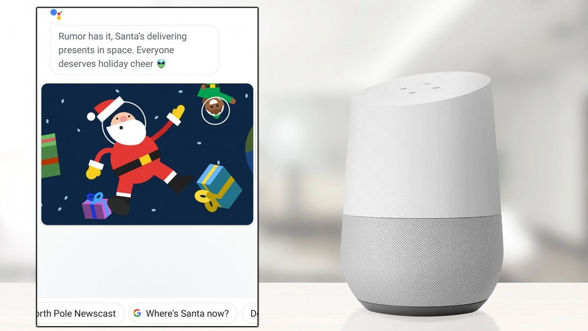 A photo of the Google Nest Smart Speaker.