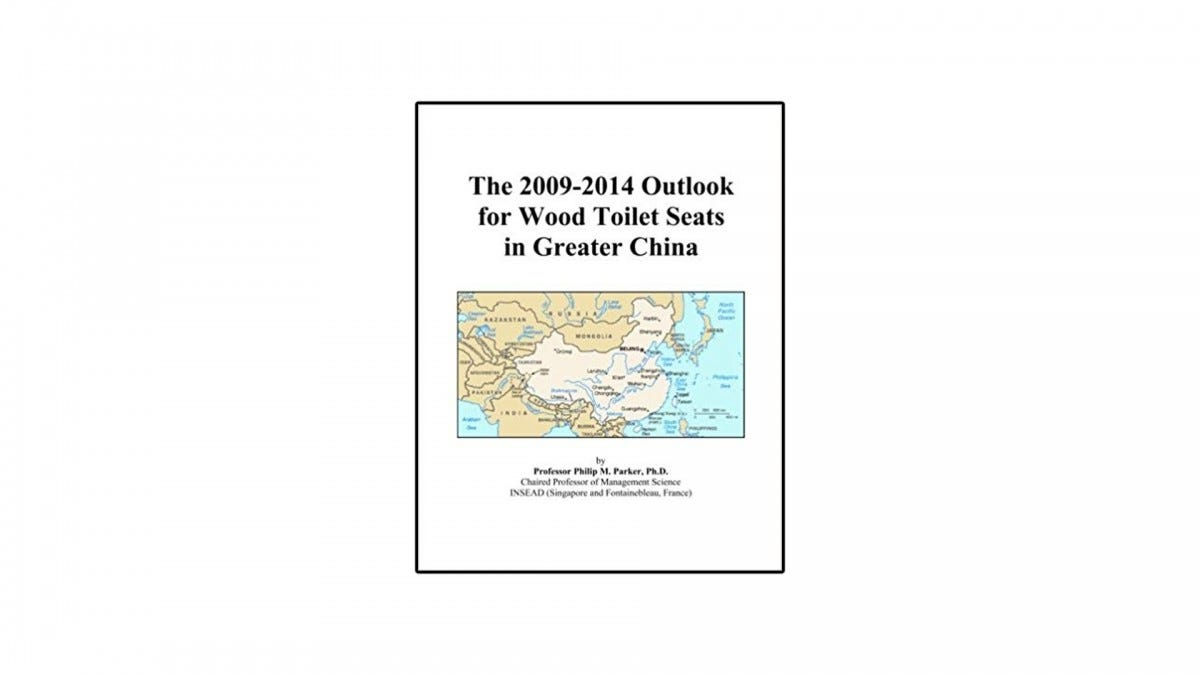The 2009-2014 Outlook for Wood Toilet Seats in Greater China.