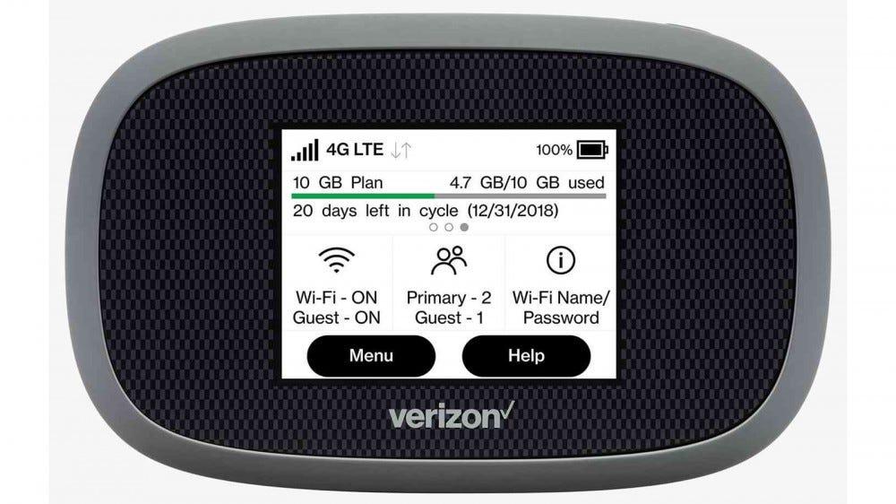 Verizon Jetpack 4G LTE Mobile Hotspot MiFi 8800L hotspot device with the best coverage