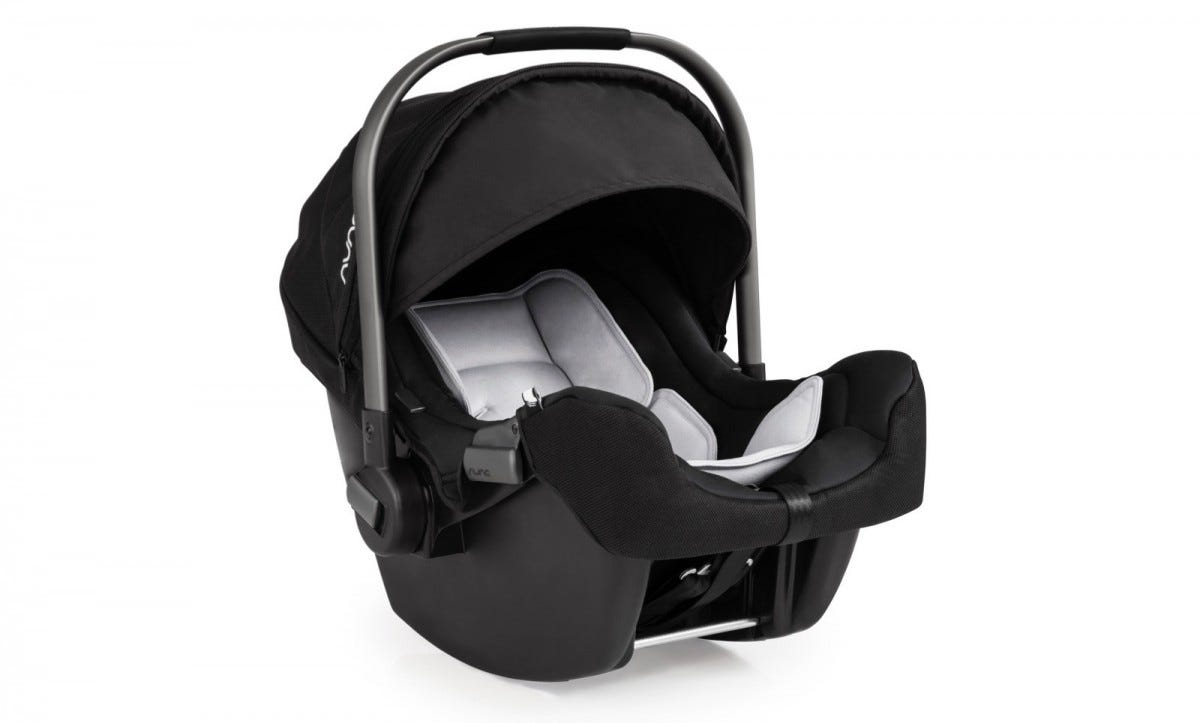 The Pipa Nuna infant car seat.