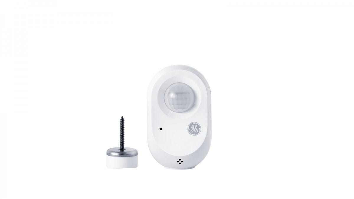 A wireless motion sensor and magnetic mount.