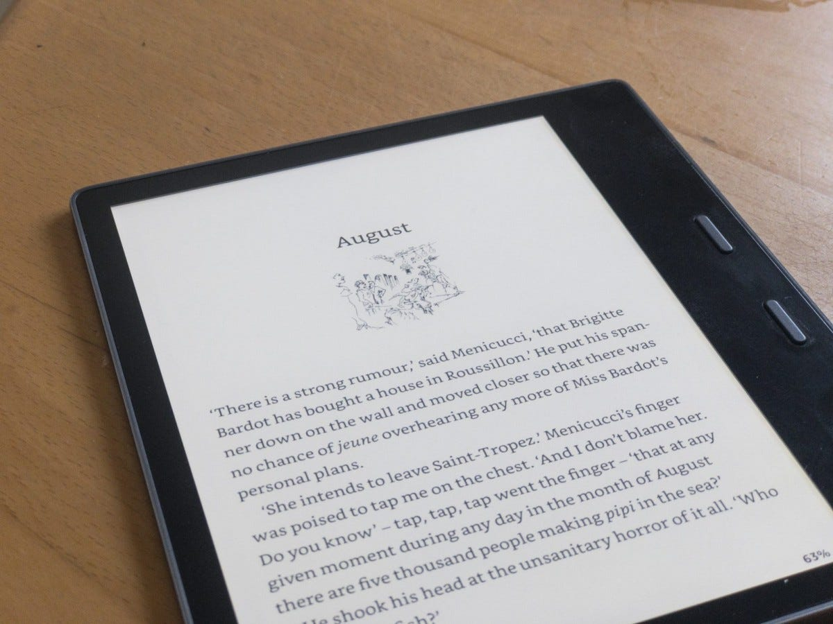 The Kindle Oasis: Two Years Later, Still The Best E-Reader Around