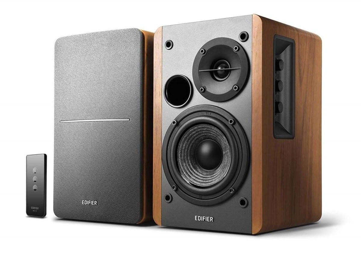 edifier, r1280t, bookshelf, pc speakers,
