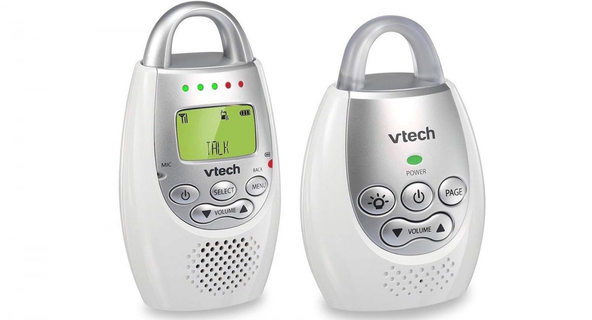 The VTech DM221 baby monitor.
