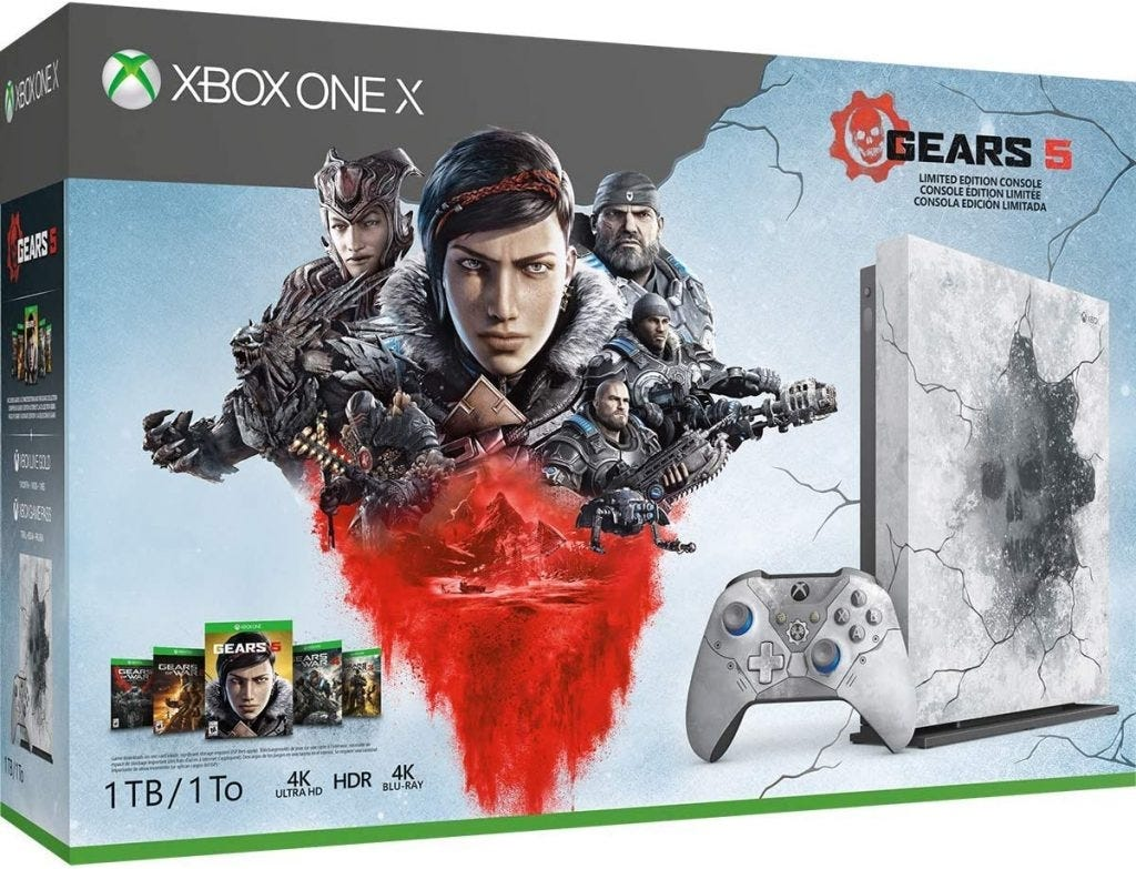 Xbox One X Gears 5 Edition