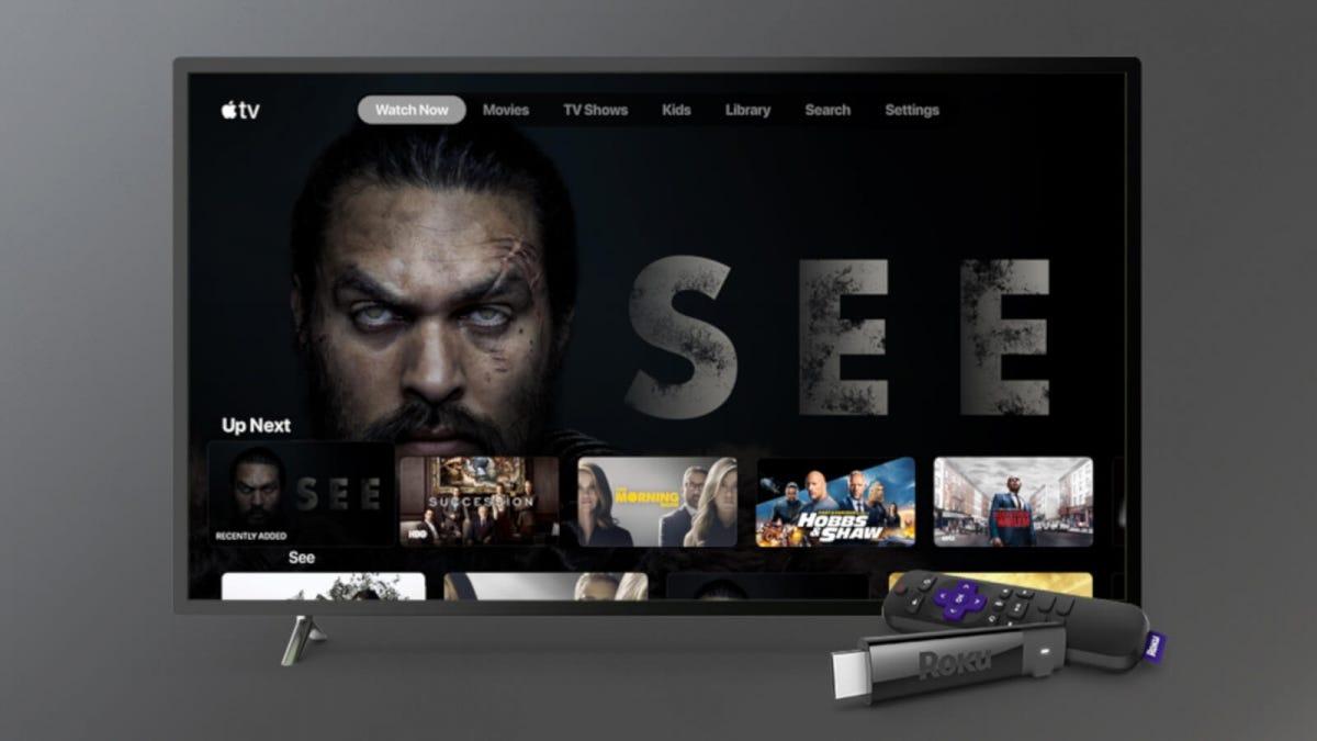 Apple TV on Roku