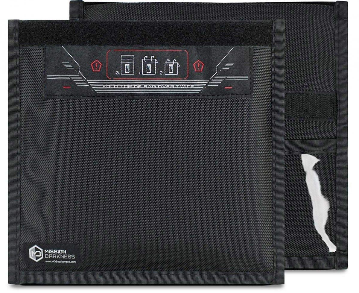 faraday, signal blocker, blocker bag, black bag, phone bag, safety