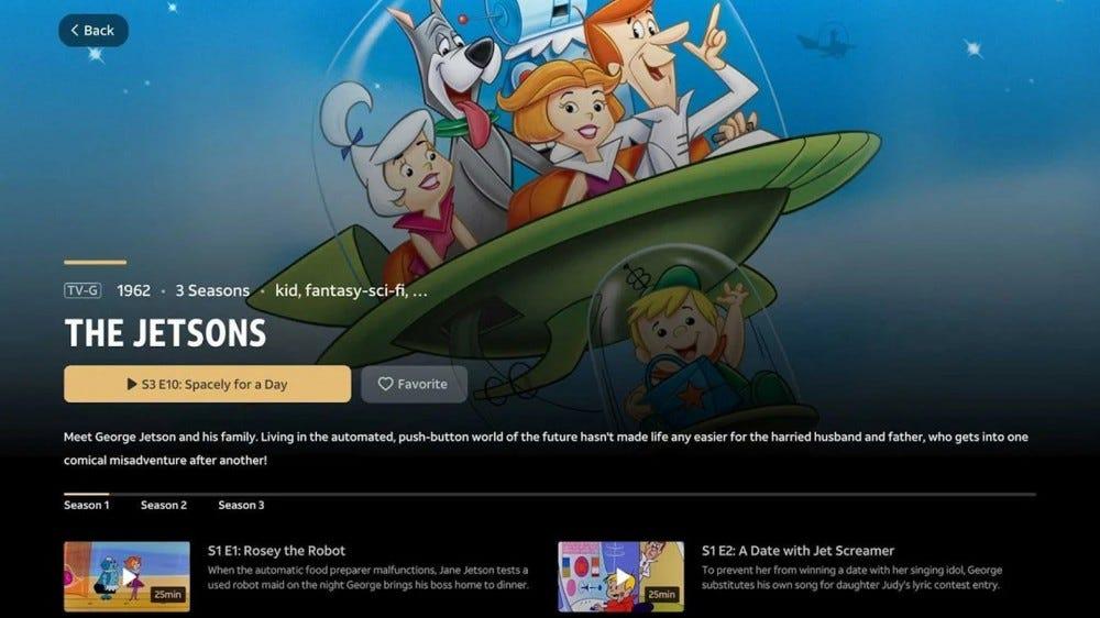 WarnerMedia Ride app screenshot