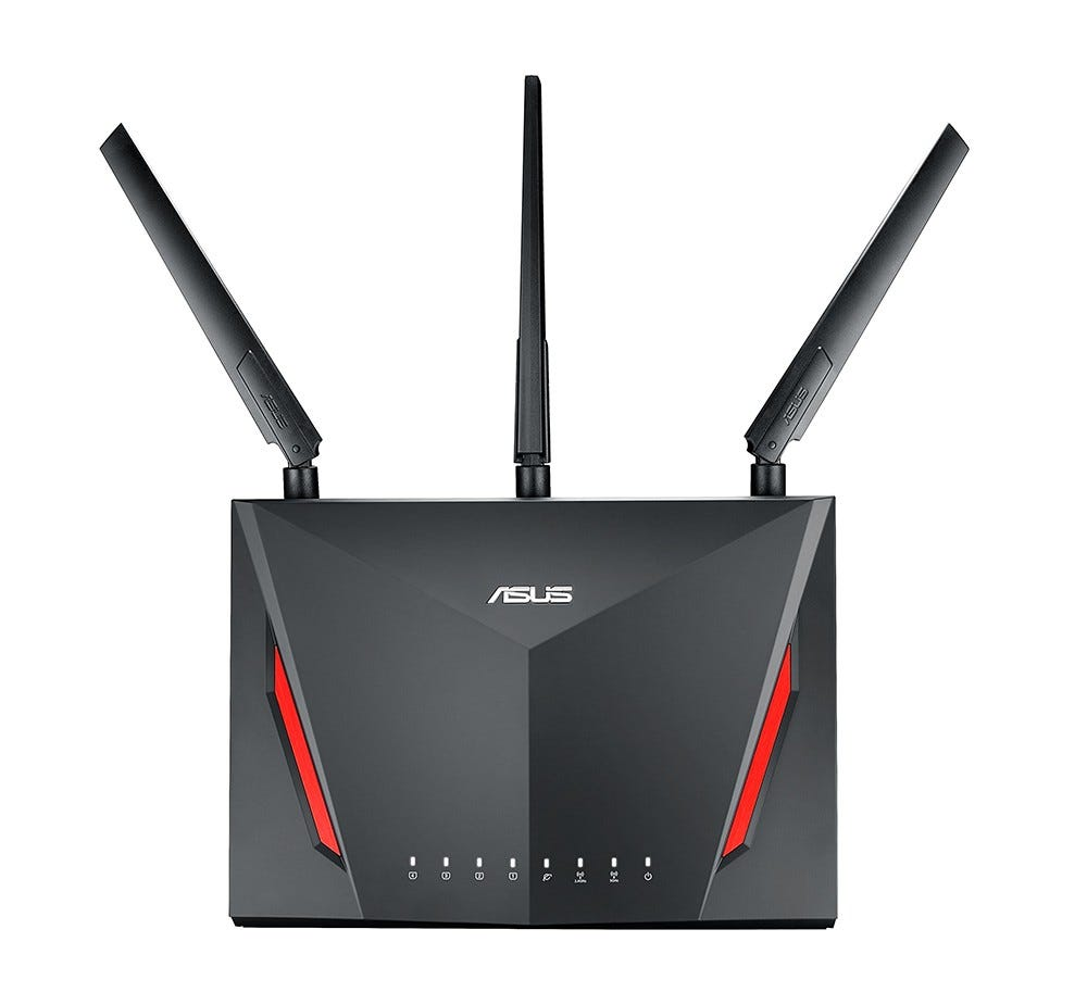 asus, gaming router, wi-fi router, AC86U, rt-ac86U