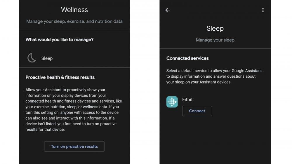 Google Segéd Wellness rész