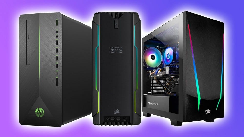 HP, Corsair, and iBuyPower gaming PCs