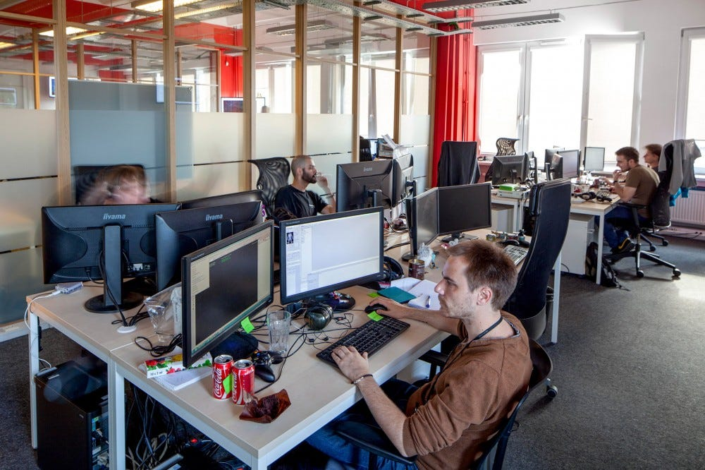 CD Projekt RED development office