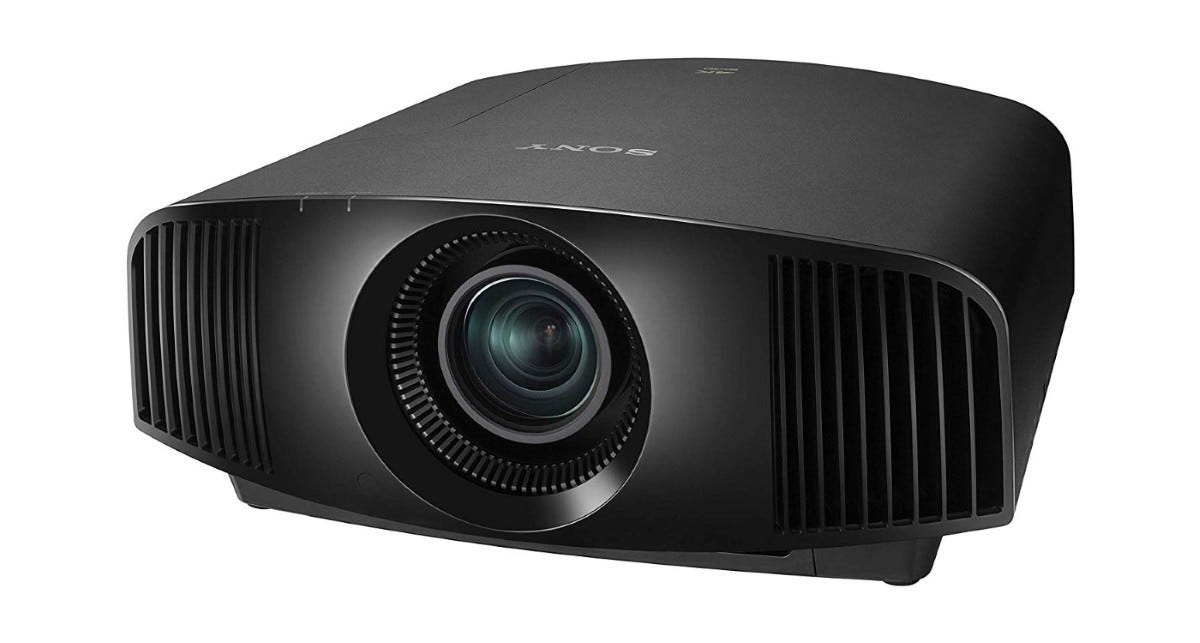 The Sony VPL-VW295ES projector.