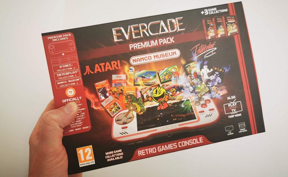 evercade premium pack box