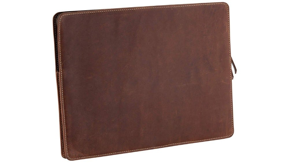 Tuk Tuk Press leather sleeve