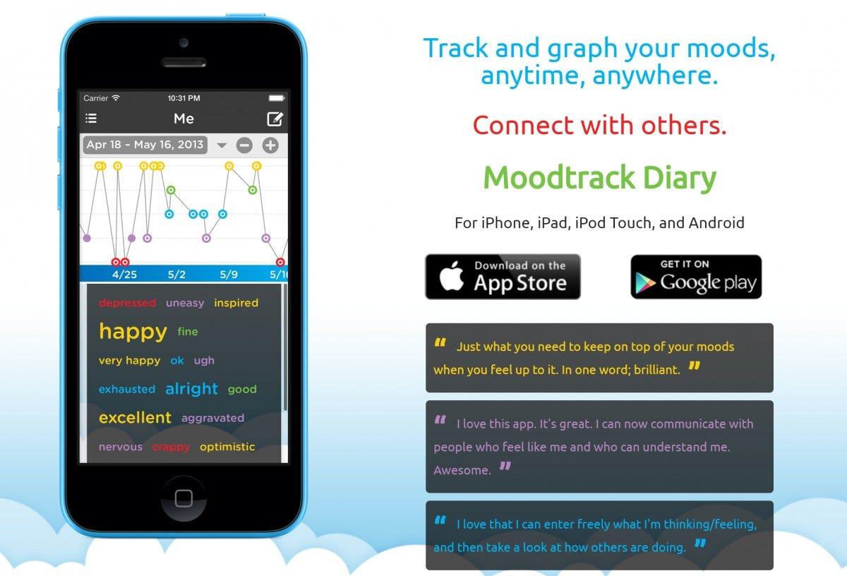 Moodtrack Diary Mood Tracker