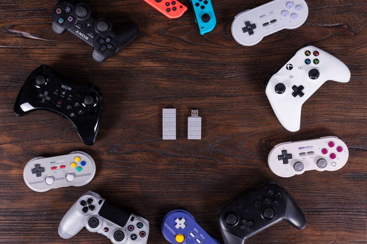 sony, 8bitdo, controller, adapter, playstation, playstation classic, Bluetooth