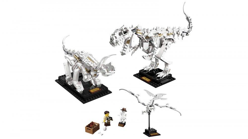 LEGO Ideas Dinosaur Fossils készlet