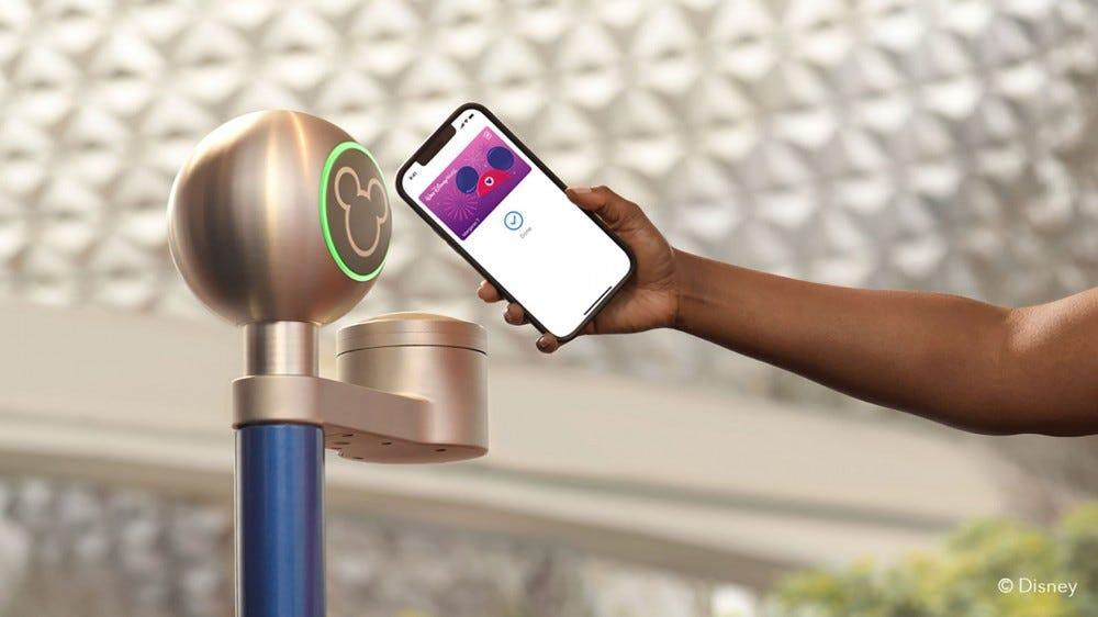 Disney MagicMobile szolgáltatás iPhone-on a Disney World-ben