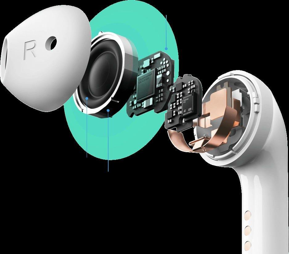 Mobvoi TicPods 2 True Wireless Earbuds
