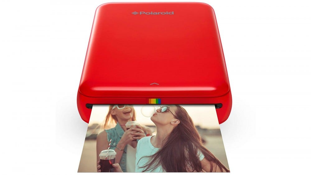 Polaroid Zip most portable photo printer photo editing app for ios and android