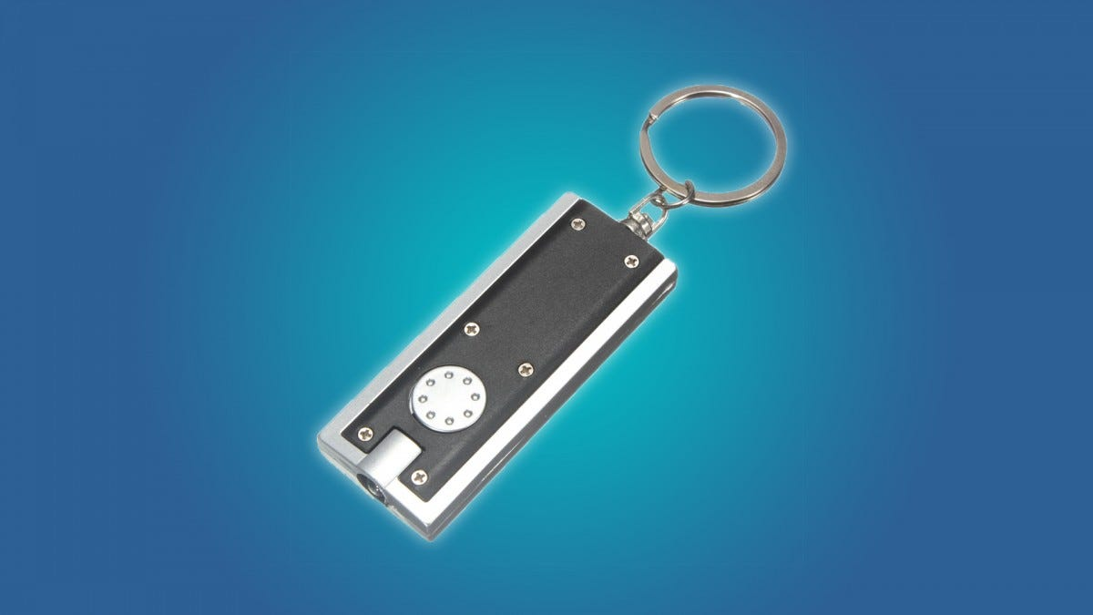The Mecco keychain flashlight