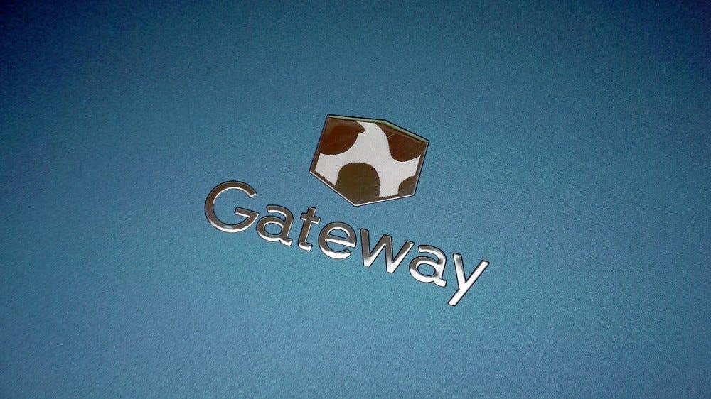 Gateway laptop logo