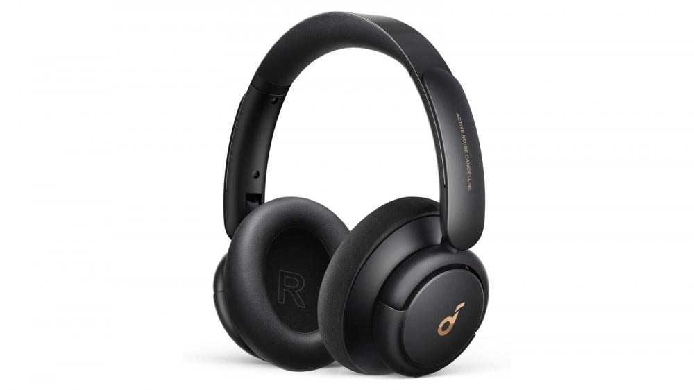 The Anker SoundCore Life Q30 wireless headphones.