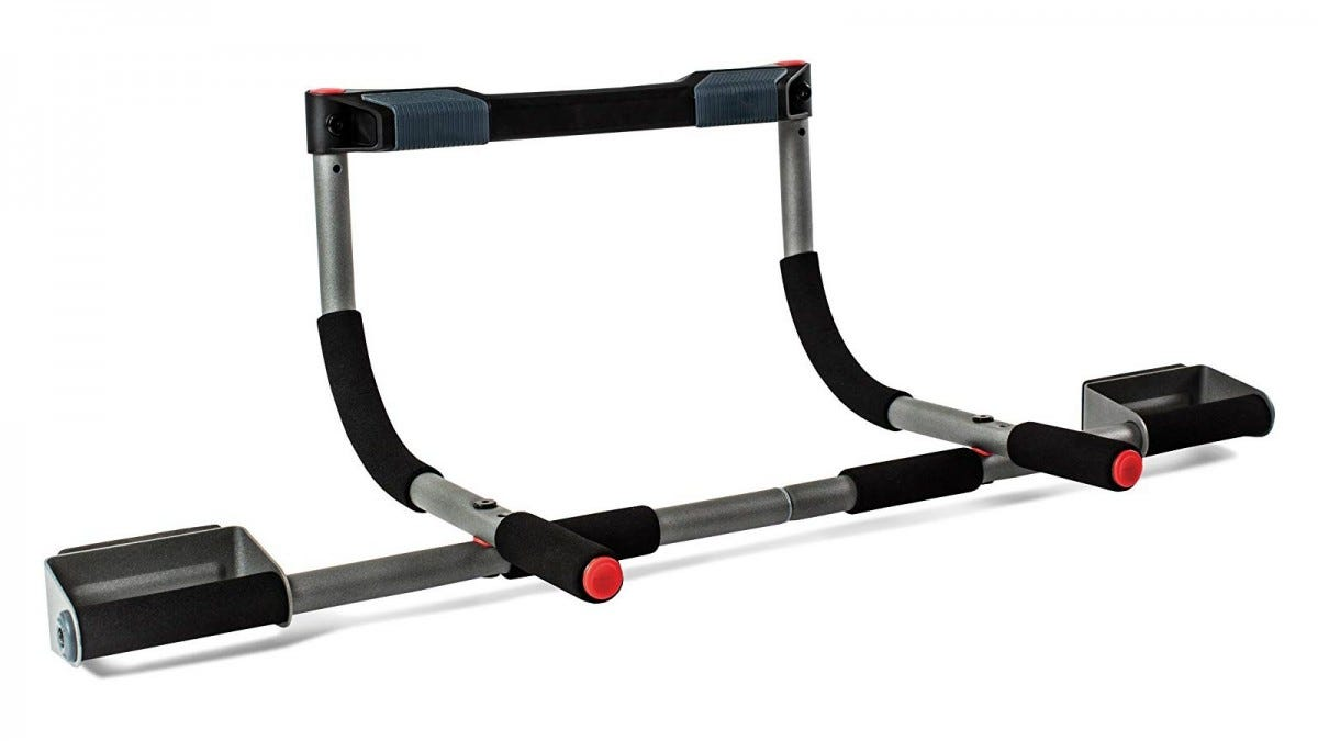 The Perfect Fitness Multi-Gym Doorway Pull Up Bar.