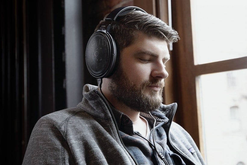the HD 6XX on a much better-looking man than me.