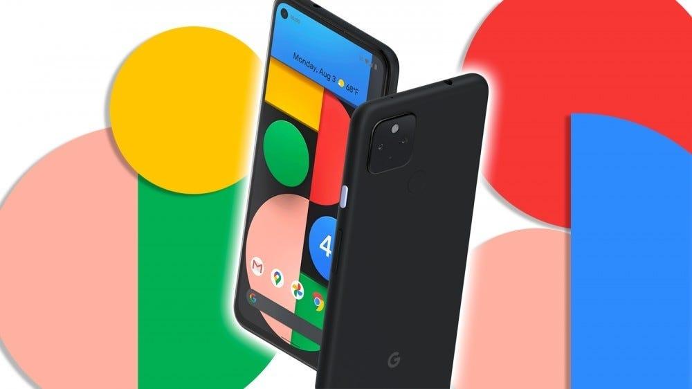 Pixel 4a phone