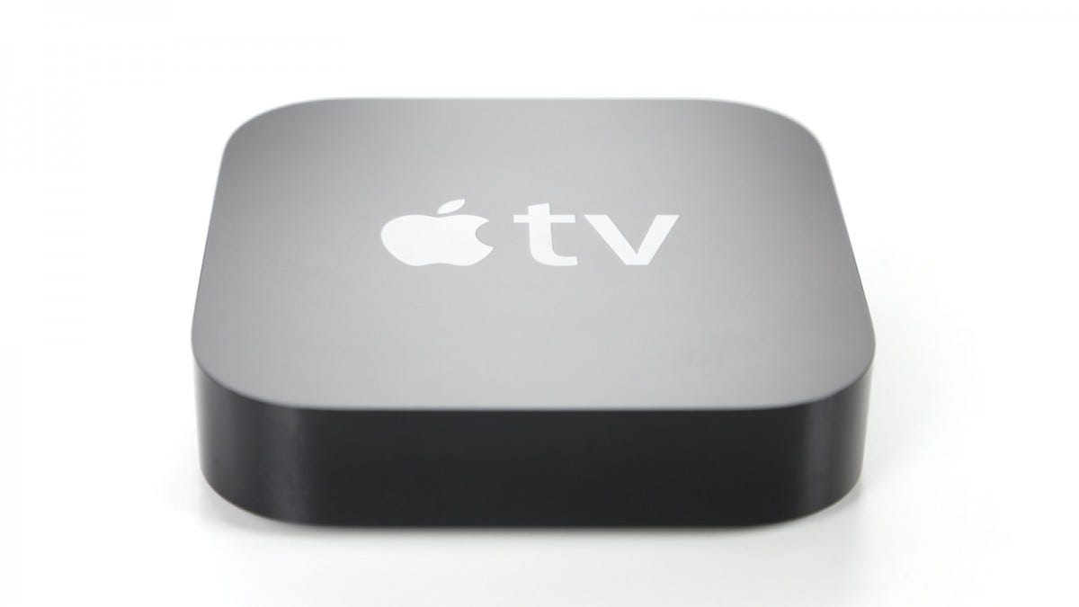 An Apple TV.