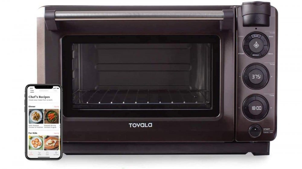 Tovala Countertop Wi-Fi connected 5-in-1 oven