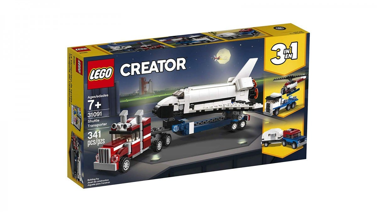 LEGO Creator 3in1 Space Shuttle Transporter