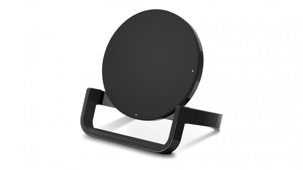 Render of Belkin's Boost Wireless Charging Stand