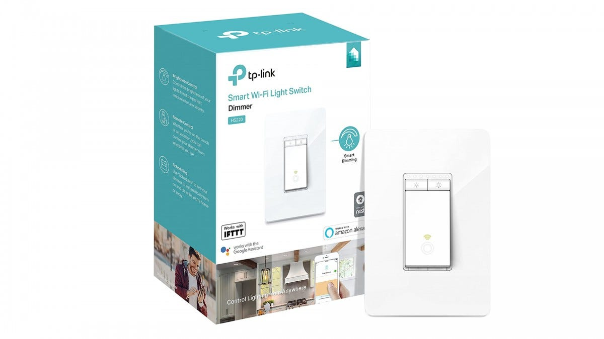 The TP Link Kasa smart dimmer