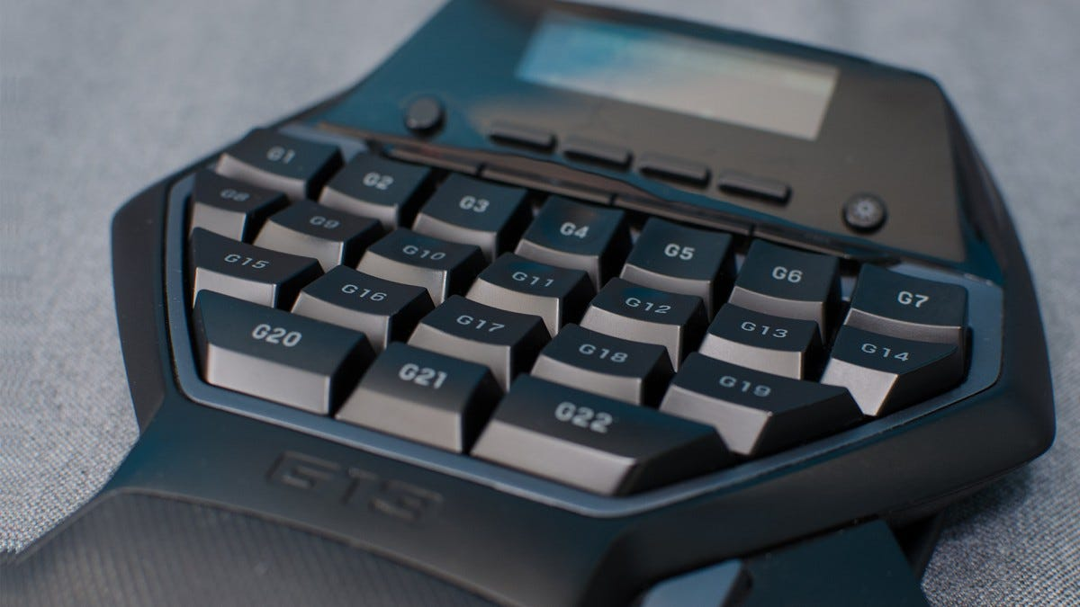 4041748c93a Best Overall Pick (If You Can Find It): Logitech G13. This is the gaming  keypad ...