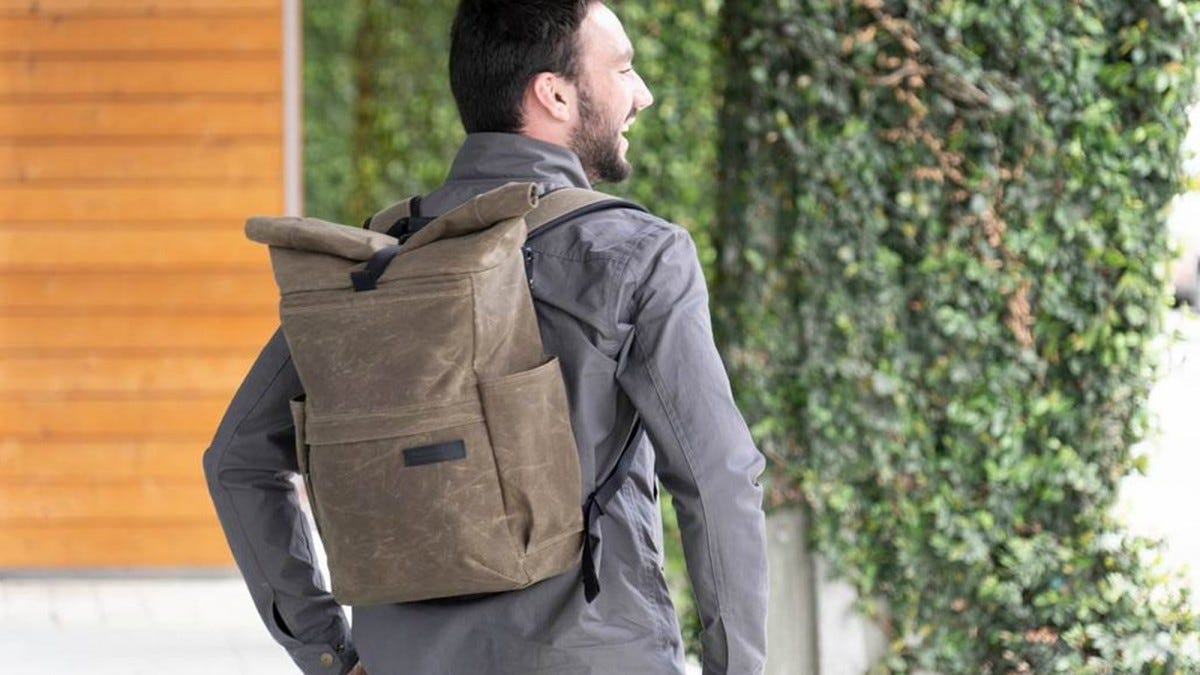 The WaterField Tech Rolltop offers huge capacity, but little in terms of value or organization.