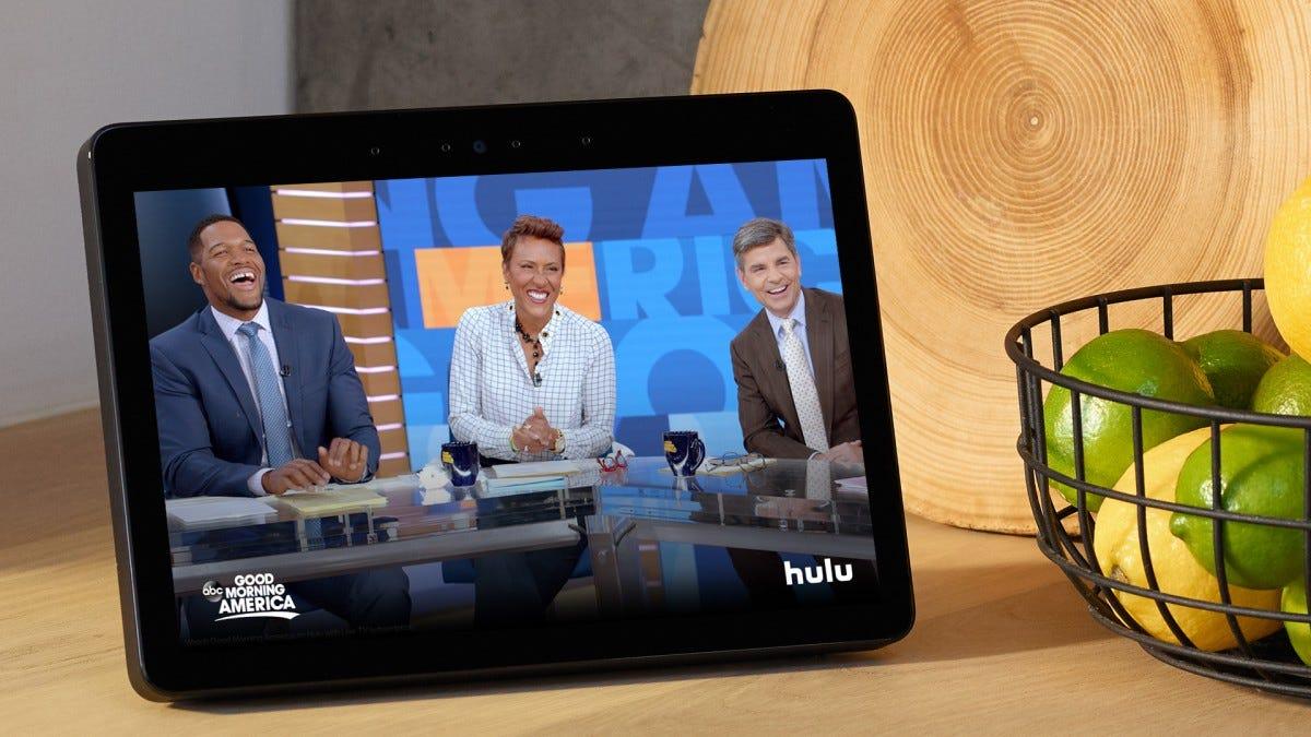 The Echo Show smart display.