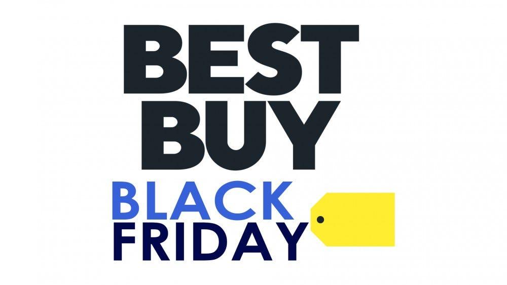The Best Buy Black Friday logo.