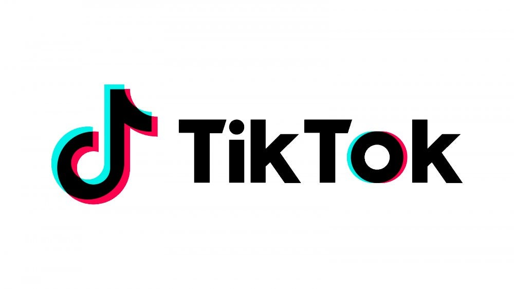 The TikTok logo