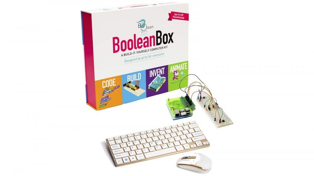 Boolean Box a mellékelt hardverrel