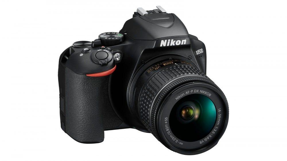 The Nikon D3500.